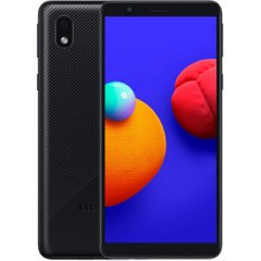 Смартфон Samsung Galaxy A01 Core 1/16Gb Black (SM-A013FZKDSEK), Чорний, 16 Gb, 1 Gb
