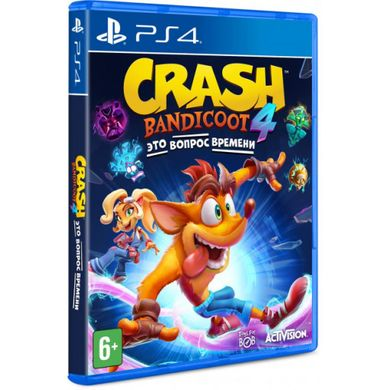 Гра SONY Crash Bandicoot™ 4: It's About Time [PS4, Blu-Ray диск] (78546RU)