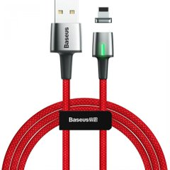 Кабель Baseus Zinc Magnetic Cable USB For Micro 1.5A 2m Red