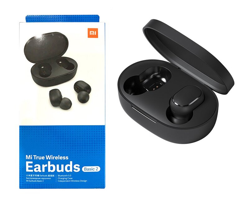 Навушники Xiaomi Mi True Wireless Earbuds Basic 2 Global (BHR4272GL) Black