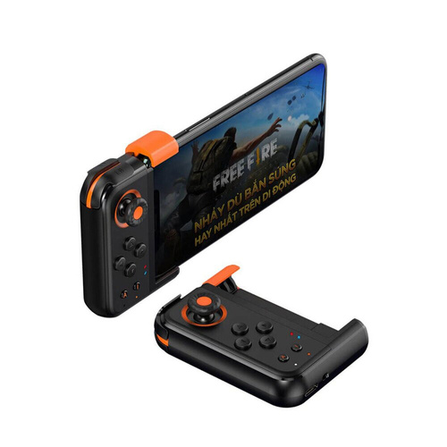 Ігровий контролер Baseus GAMO Mobile Game One-Handed Gamepad Black